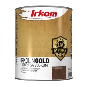 Irkolin GOLD - lazura za drvo sa voskom i UV zaštitom
