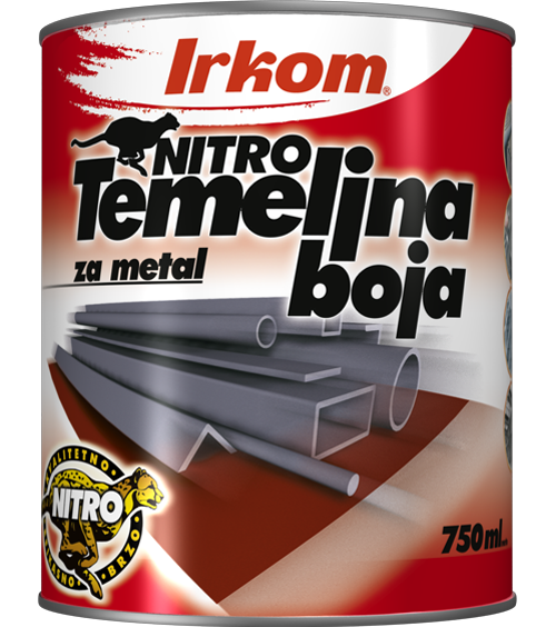 Irkom Nitro temeljna (osnovna) antikorozivna  boja za metal