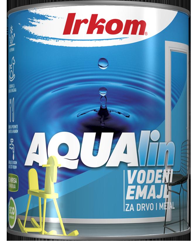 Irkom AQUALIN boje i lakovi na vodenoj bazi