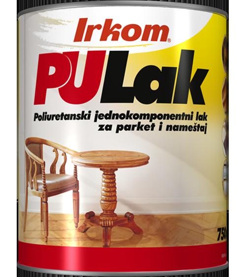 Irkom PU lak - poliuretanski jednokomponentni lak za parket i nameštaj