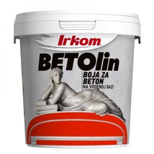 Irkom Betolin - boja za beton na vodenoj bazi