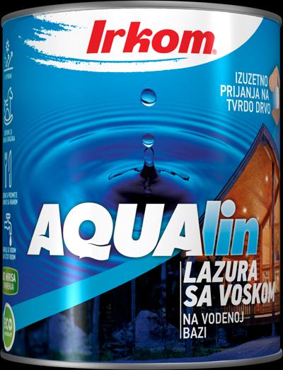 Irkom AQUAlin vodena lazura sa voskom i UV stabilizatorima